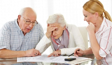 bigstock-Senior-couple-with-financial-a-55192820